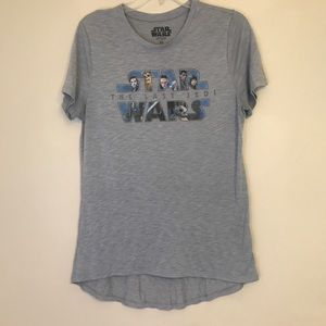 Star Wars Last Jedi Tee